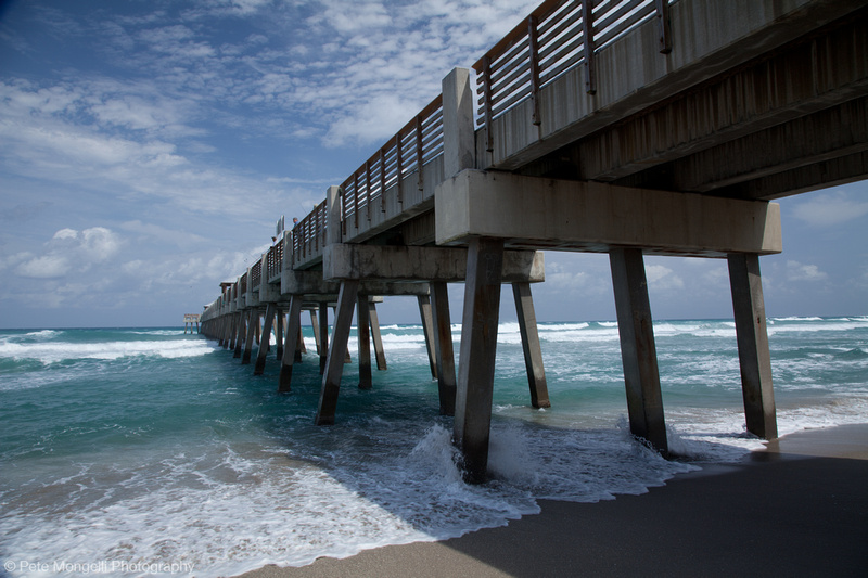 Photography by pete mongelli refractions a photoblog for Juno fishing pier